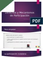 Tarea 4 Objeto 2 de aprendizaje sobre Derechos y mecanismos de participación