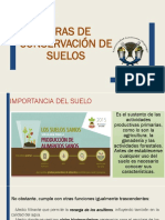 Conservación suelos. obras