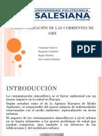 Caracterización de Las Corrientes de Aire1
