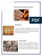 Trabajo ----Historia Del Notariado en Guatemala