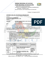 1.Informe Pedagogico -Masisea 1- Ernesto-julio 2016