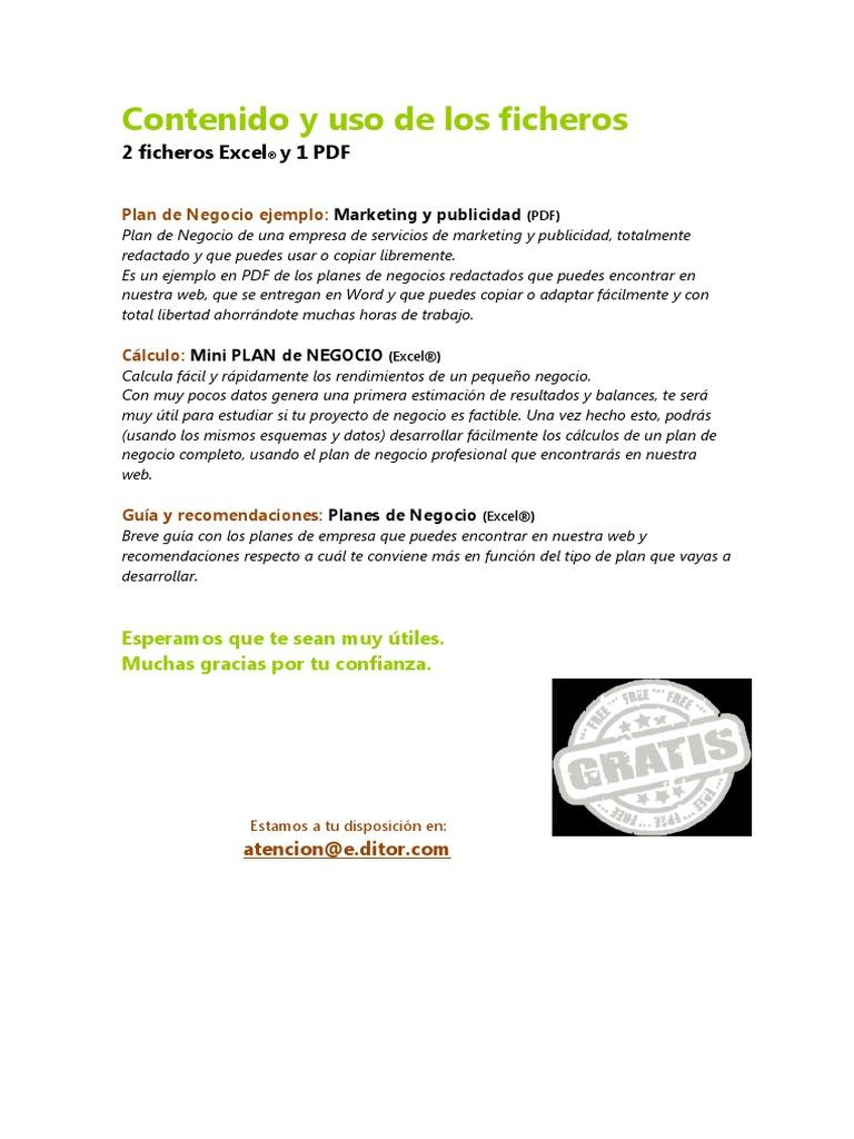 contenido y uso leeme pdf