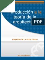 Introduccion a La Teoria de La Arquitectura