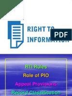 RTI RULES, PIO, AP & RC