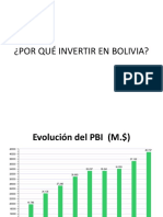 Económia Bolivia- Ppts
