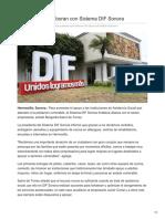 04-08-2018-Empresarios Colaboran Con Sistema DIF Sonora - Tribuna