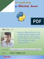 Python Made Easy