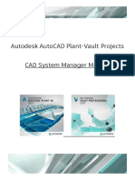 Autodesk AutoCAD Plant 3D - CAD System Manager Manual