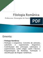 Filologia Românica1