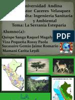 Serrania Esteparia