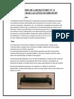 Informe de Laboratorio Nª 01 UNAC- DISPOSITIVOS Y COMPONENTES ELECTRONICOS
