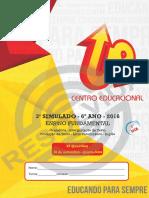 6_66_285_2016 - Simulado Objetivo - s1 - 6ano - 30-11 - Gabaritado - Site - Ok