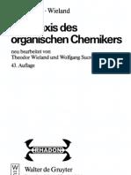 Gattermann Wieland - Die Praxis Des Organischen Chemikers