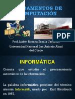 Tema - Fundamentos de La Informatica
