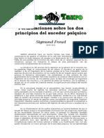 Freud, Sigmund - Formulaciones Sobre Los Dos Principios Del Suceder Psiquico.doc