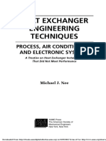 Heat Exchanger Engineering Techniques Process, Air Conditioning, And Electronic Systems