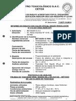 D-700s Toxicidad Oral Aguda