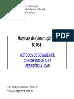 Métodos Dosagem CAD-CAR