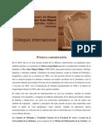 Convocatoria Del Coloquio 2019