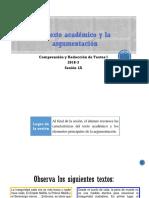 1A El texto académico argumentativo (diapositivas) 2018-3.pptx