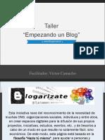 Taller de Blogs