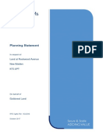 17P3807 Planning Statement
