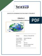 Trabajo de Investigacion Telesup-uso de Las Tics