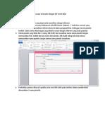 Cara membuat daftar pustaka secara otomastis dengan MS Word 2010.docx