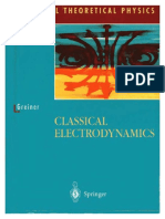 (Classical Theoretical Physics) Walter Greiner, D.a. Bromley-Classical Electrodynamics-Springer (1998)