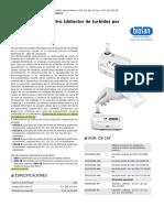 DEN-1B, Densitómetro (Detector de Turbidez Por Suspensión)