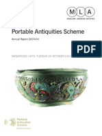 Portable Antiquities Annual Report 2003-2004
