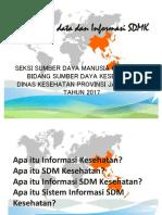 Materi Rapat Pengelolaan Data Sdmk