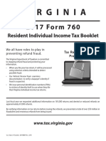 2017 Form 760 Instructions