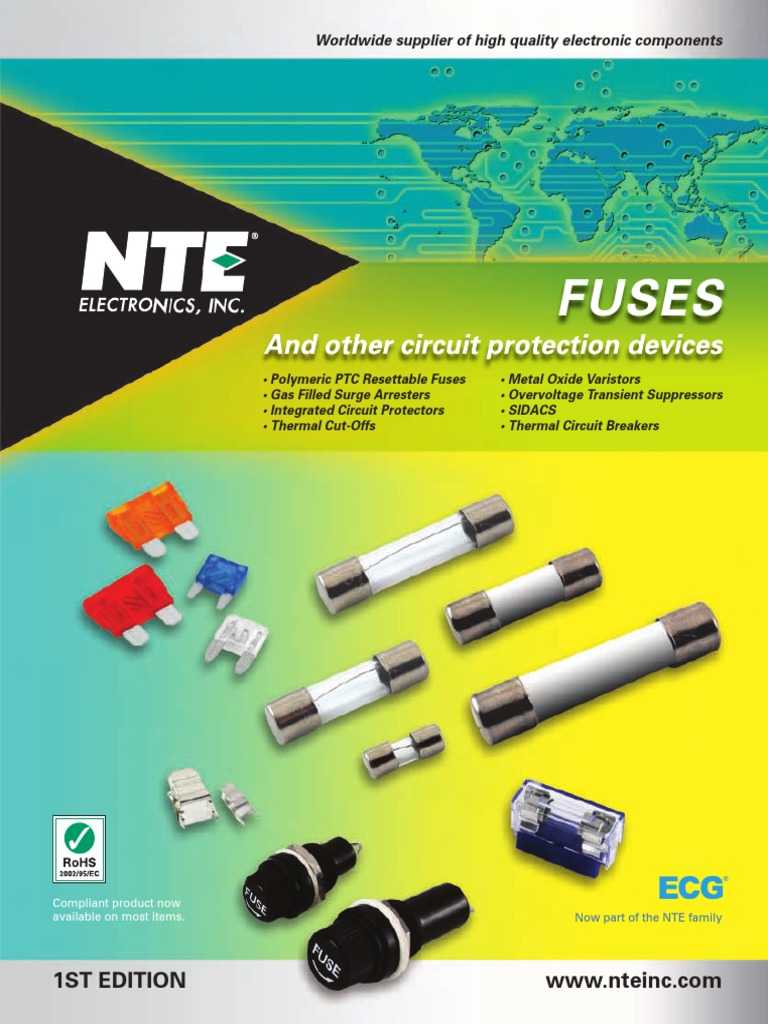 NTE Electronics 74-5FC500MA FUSE-MINIATURE 5X20MM CERAMIC 500MA 250V