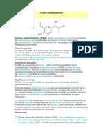 INTERESANTE  Ácido vanililmandélico