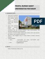 Profil Rumah Sakit Universitas Mataram Rev3