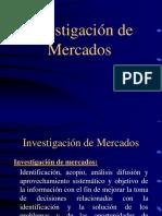 Investigación de Mercados. Generalidades