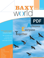 Newsletter 2010 Ranbaxy World