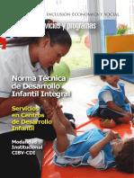 Norma Técnica de Desarrollo Infantil Integral