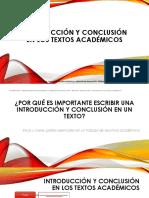 4. Introduccion y Conclusion
