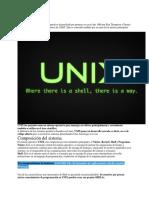 Qué es UNIX
