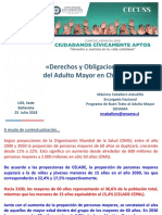 Derechos y Obligaciones Del Adulto Mayor CCA18