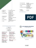Programme Intramurals 2018
