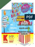 August Birthday Members