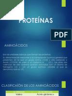 proteínas - diapositivas