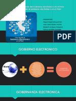 El camino recorrido del Gobierno Electrónico en el Perú - TI.pptx