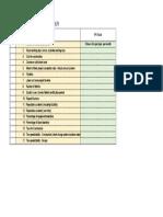 Sample of Operation Department KPI