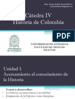 Cronograma de Clases y Exposiciones Cátedra IV Grupo 2