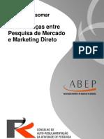 Diretrizes Esomar - Diferenças Entre Pesquisa de Mercado e Marketing Direto