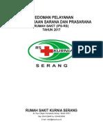 Pedoman Pelayanan IPSRS